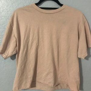 light pink top brandy melville